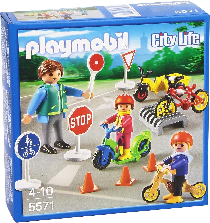 PLAYMOBIL Guardería - Niños con Seguridad Vial, playset (5571 ...