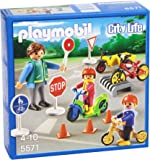 PLAYMOBIL Children with Crossing Guard Set