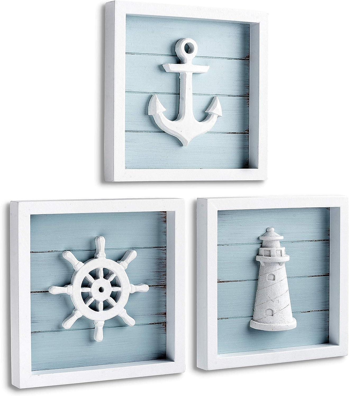 19 Rustic Nautical Bathroom Hardware Set of 19 ~ In The Sea