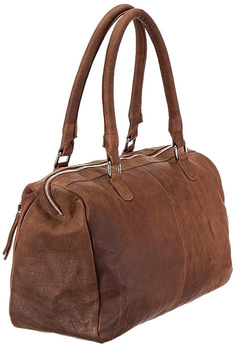 a4a50a8382d8 Adax maanii BAG Shoulder Bag Womens Brown Braun (Cognac 03) Size  41x30x17  cm (B x H x T)  Amazon.co.uk  Shoes   Bags