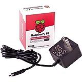 Raspberry Pi 4 Model B Official PSU, USB-C, 5.1V, 3A, US Plug, Black SC0218 Pi Accessory (KSA-15E-051300HU)