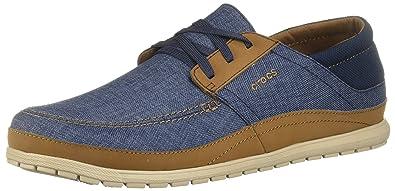 80bc3b32aeb1bc Crocs Men s Santa Cruz Playa Lace-up Sneaker  Amazon.co.uk  Shoes   Bags