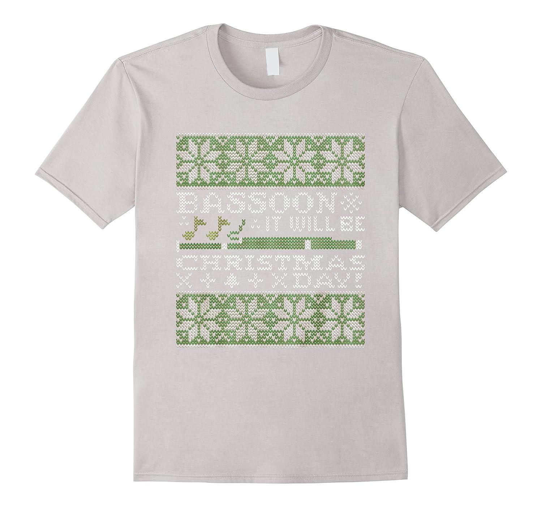 Bassoon It Will Be Christmas Day Sweater Shirt-Art