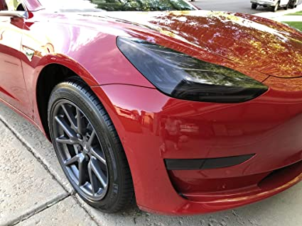 Amazon com: BlingLights Tesla Model 3 Tinted Head and Fog