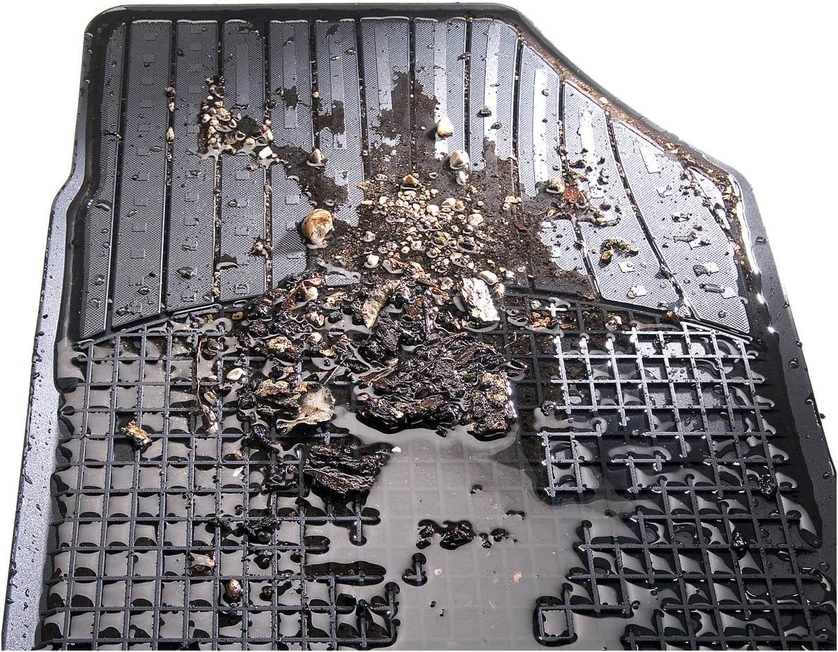 2-teilig Baujahr 10//2000-09//2006 CarFashion Allwetter Schalenmatte B2 Auto Fussmatten Set in schwarz ohne Mattenhalter f/Ã/¼r  Corsa C