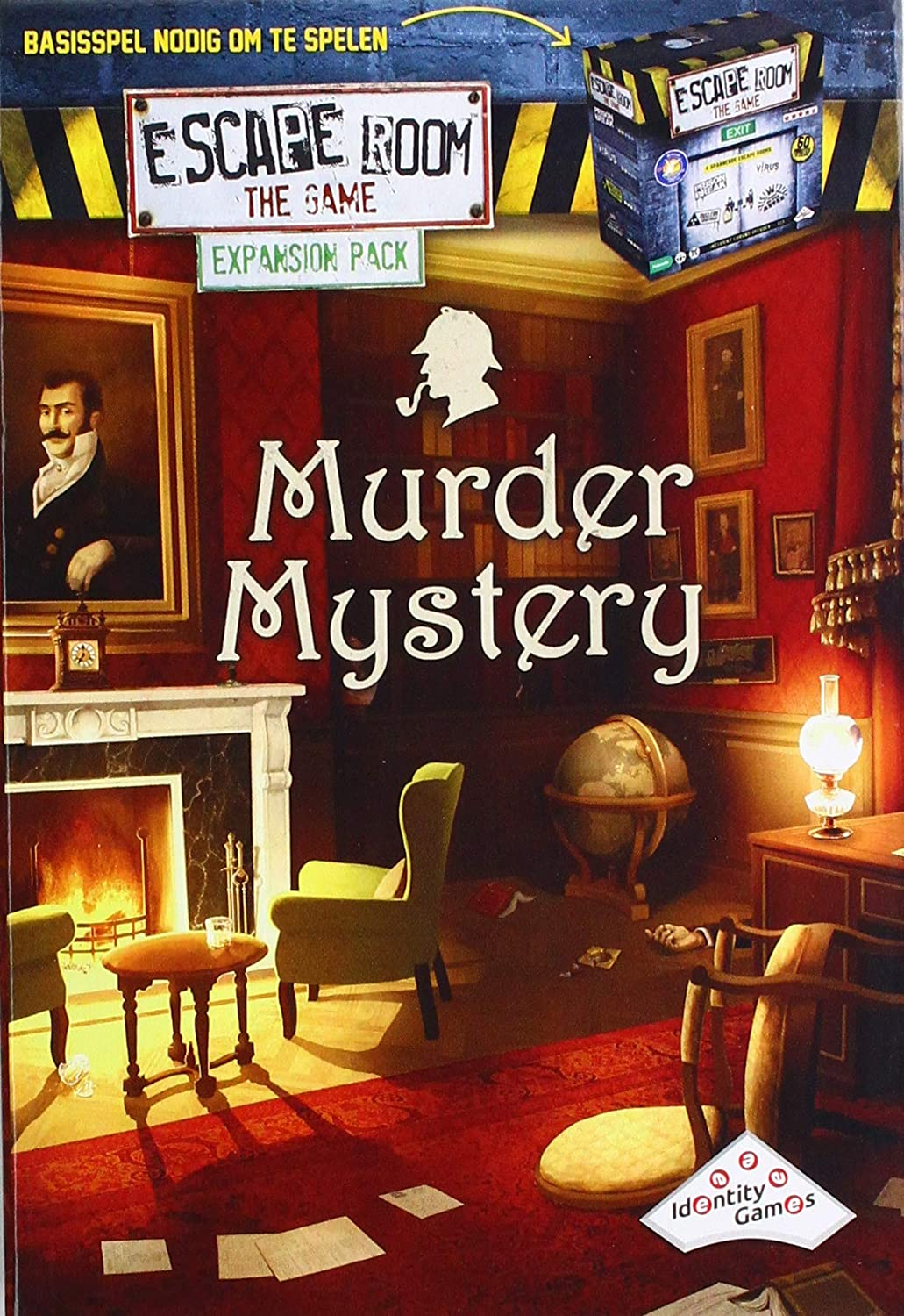 Identity Games 07277 Escape Game-Pack Extension-Murder Mystery: Amazon.es: Juguetes y juegos