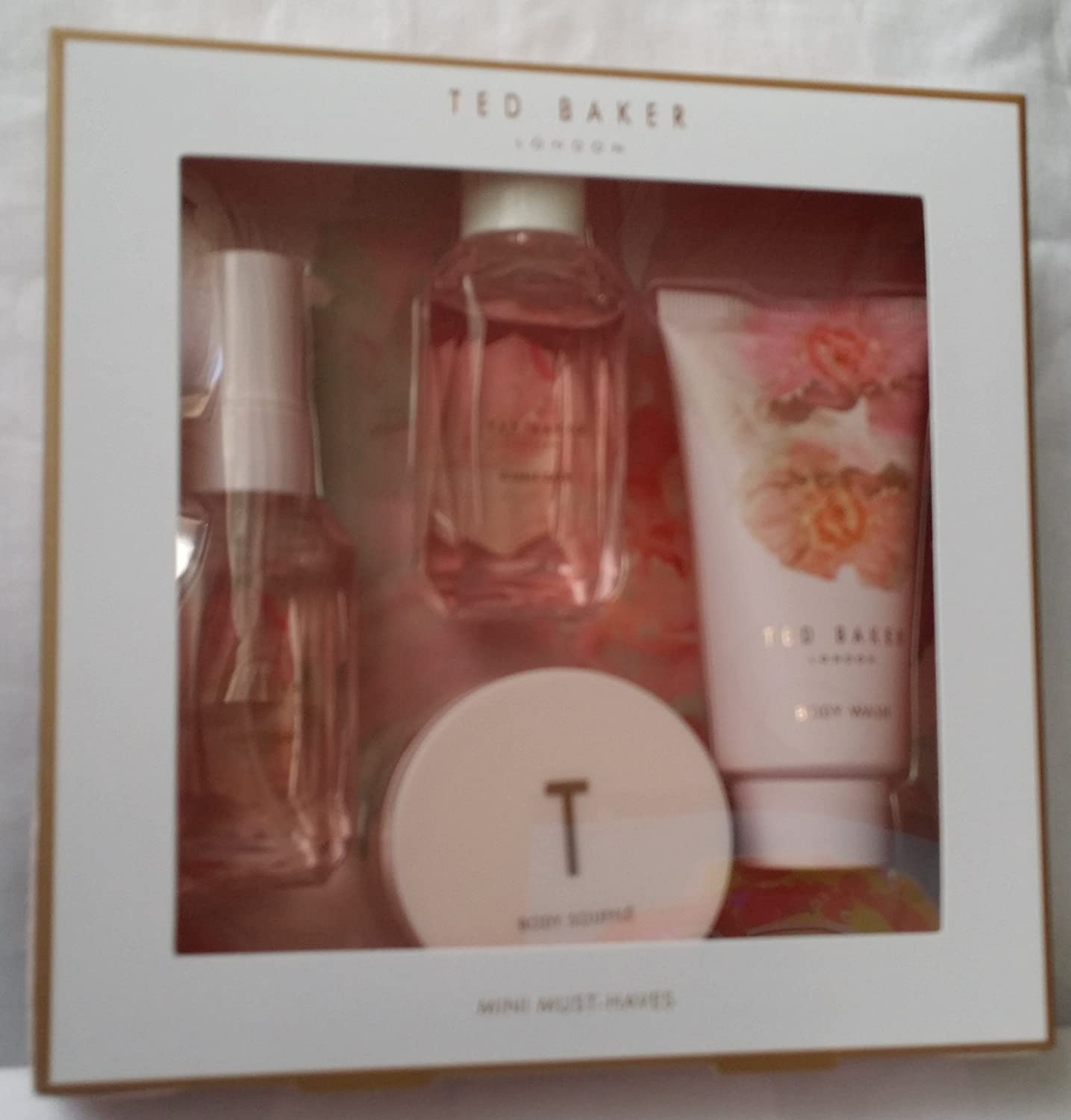 *NEW* Ted Baker Mini Must Haves Body Spray Souffle Wash Gift Set