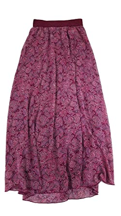 03c3d1c63f3515 Lularoe Lucy Paisley XX-Small (XXS) Floor Length Women's Skirt fits ...