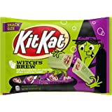 Kit Kat Halloween Snack Size Wafer Bars, green candy, 10.19 Oz
