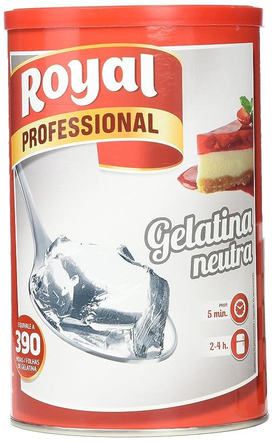 Royal - Gelatina Neutra Hostelería 650 gr, 1 unidad: Amazon.es: Alimentación y bebidas