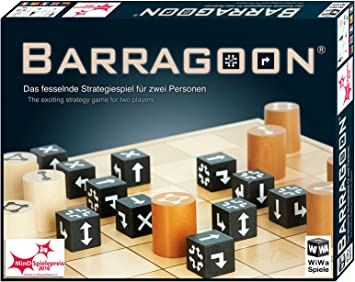 WiWa Spiele 790016 - BARRAGOON - El fascinante juego de estrategia ...