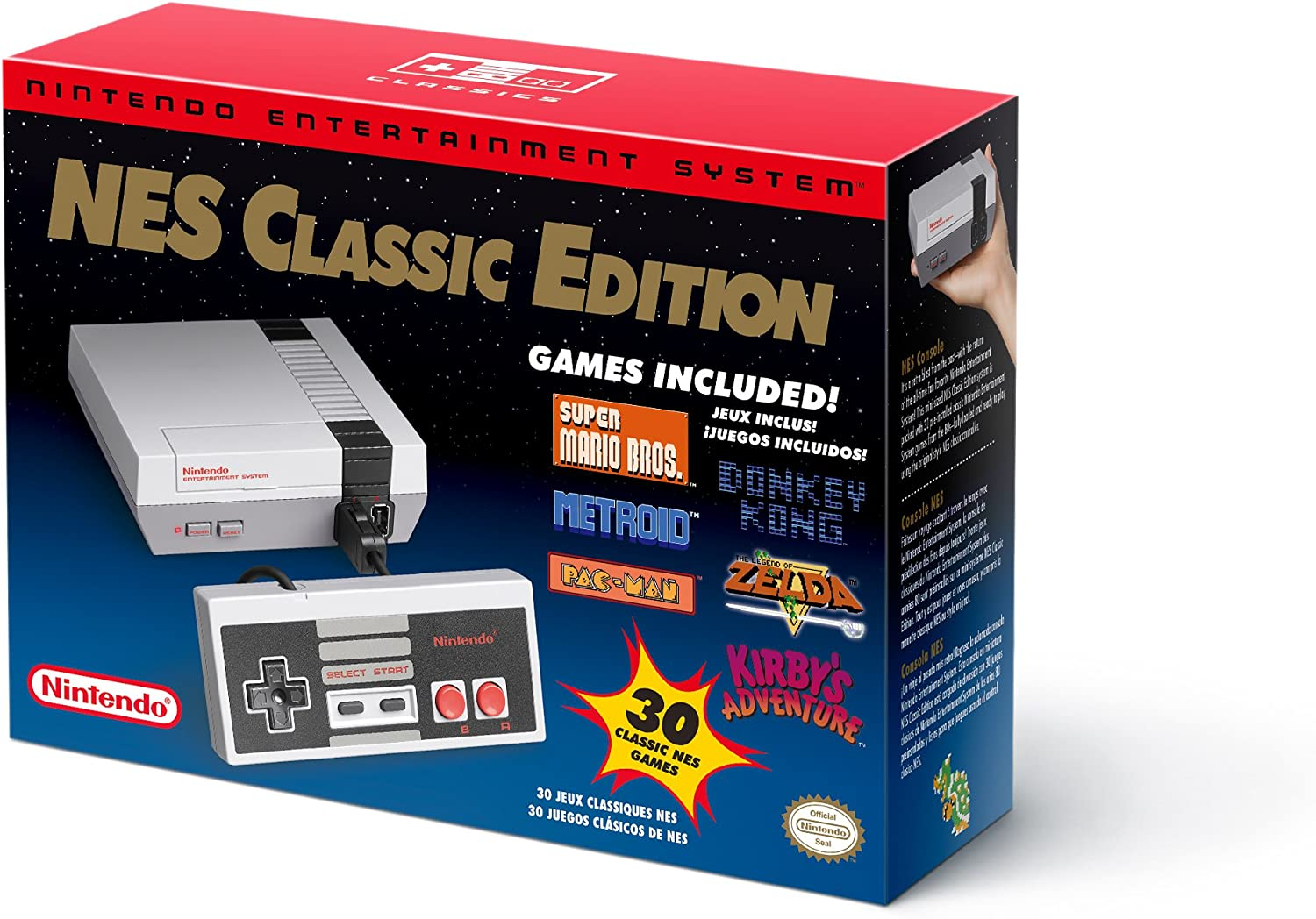 ** Nes Classic Edition ** Box Only ** Box Only **with Packaging Material Year-End Bargain Sale