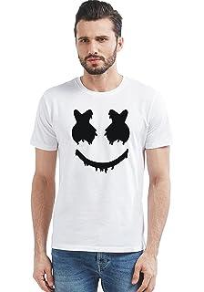 bddd66f3 Graphic Printed Marshmallow Design Round Neck HAFL Sleeve T-Shirt by JORKK  Create Your Style