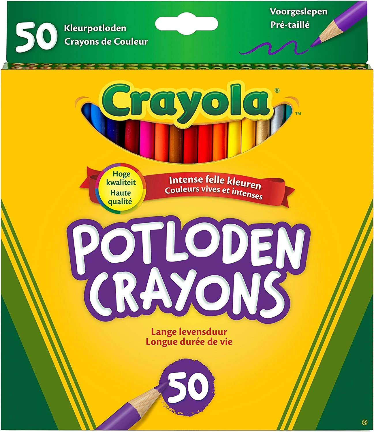Gift Crayola 100 Colored Pencils with 16 Color Fx Exclusive