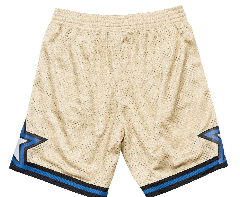 1059ceef214a Amazon.com   Mitchell   Ness Orlando Magic NBA Swingman Men s Mesh Shorts -  Gold   Sports   Outdoors
