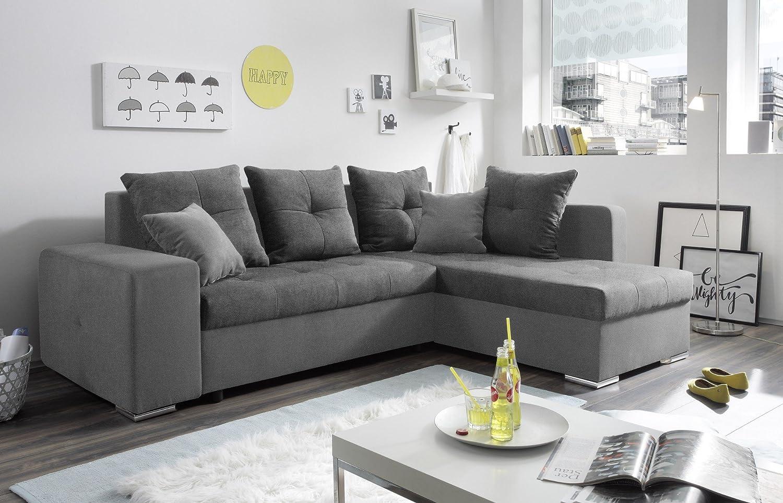 Ansprechend Günstige Eckcouch Beste Wahl Ecksofa Funktionssofa Sofa Couch Mit Bett &
