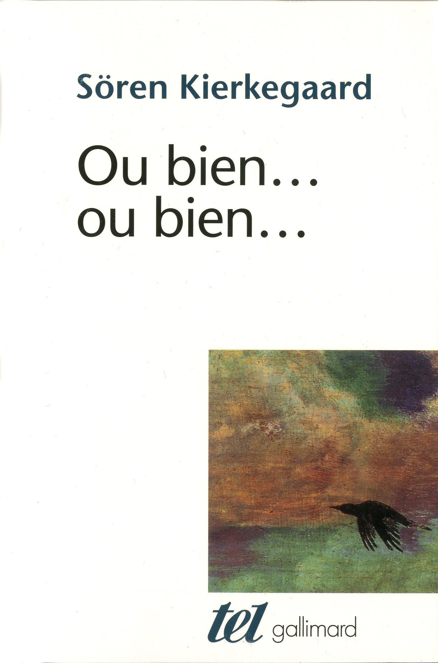 Ou Bien Ou Bien Amazon Ca Soren Kierkegaard Books