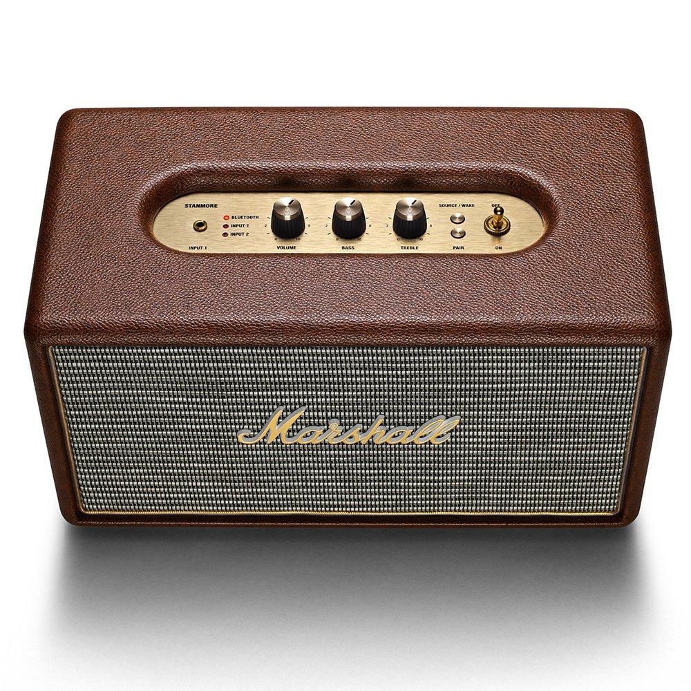 Marshall Stanmore - Altavoz Bluetooth - Marrón