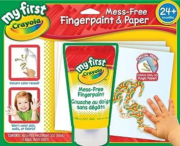 Buy Crayola My First Crayola No Mess Finger Painting Set