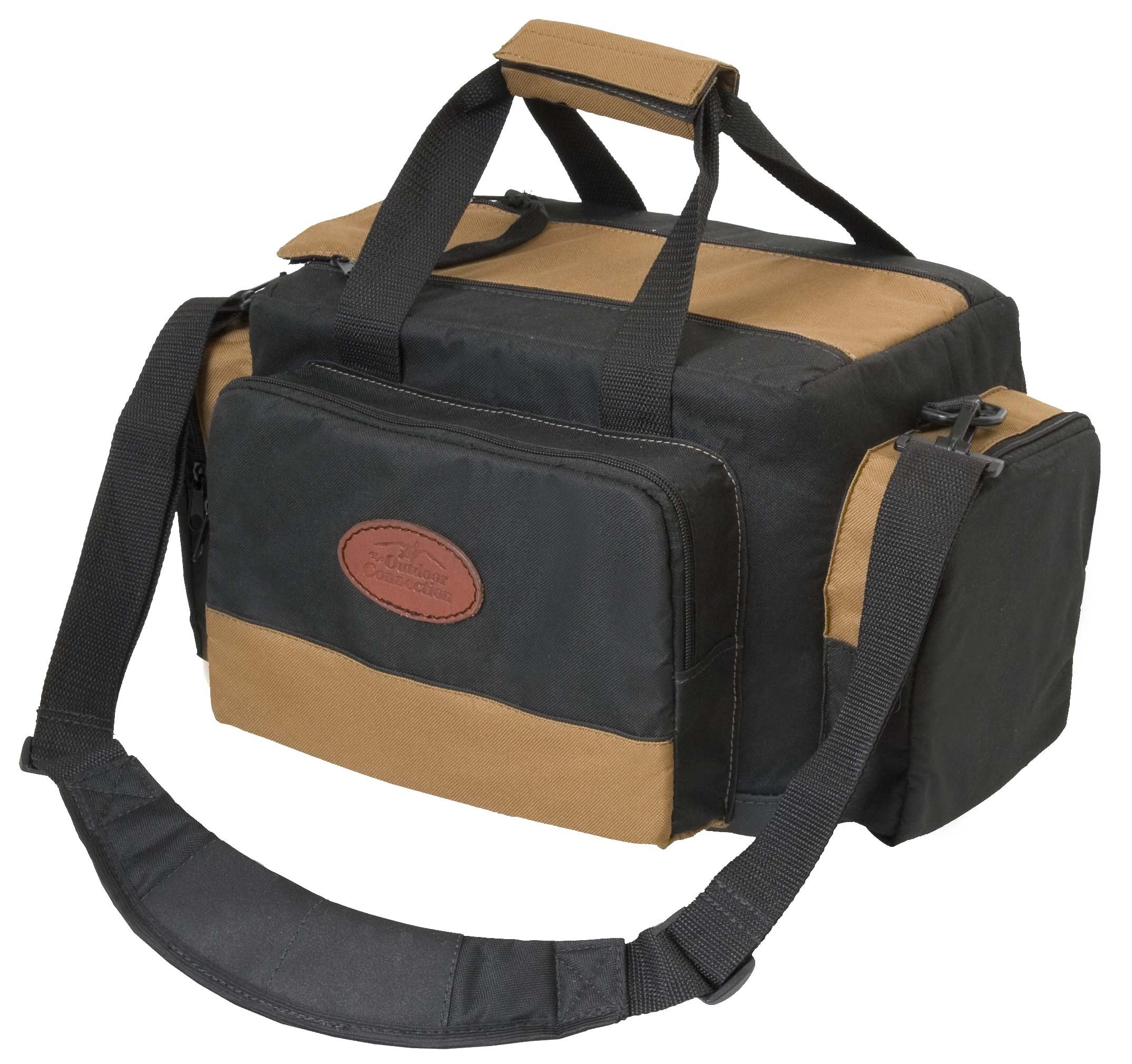 Outdoor Connection BGRNG1-28110 Deluxe Range Bag (Tan/Black) by Outdoor Connection (Image #2)