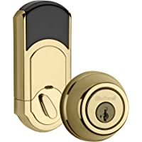 Kwikset 99100-061 910 S TRL ZW L03 SMT Deadbolt, Polished Brass