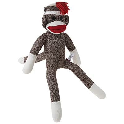 Schylling Sock Monkey: Toys & Games [5Bkhe0502120]