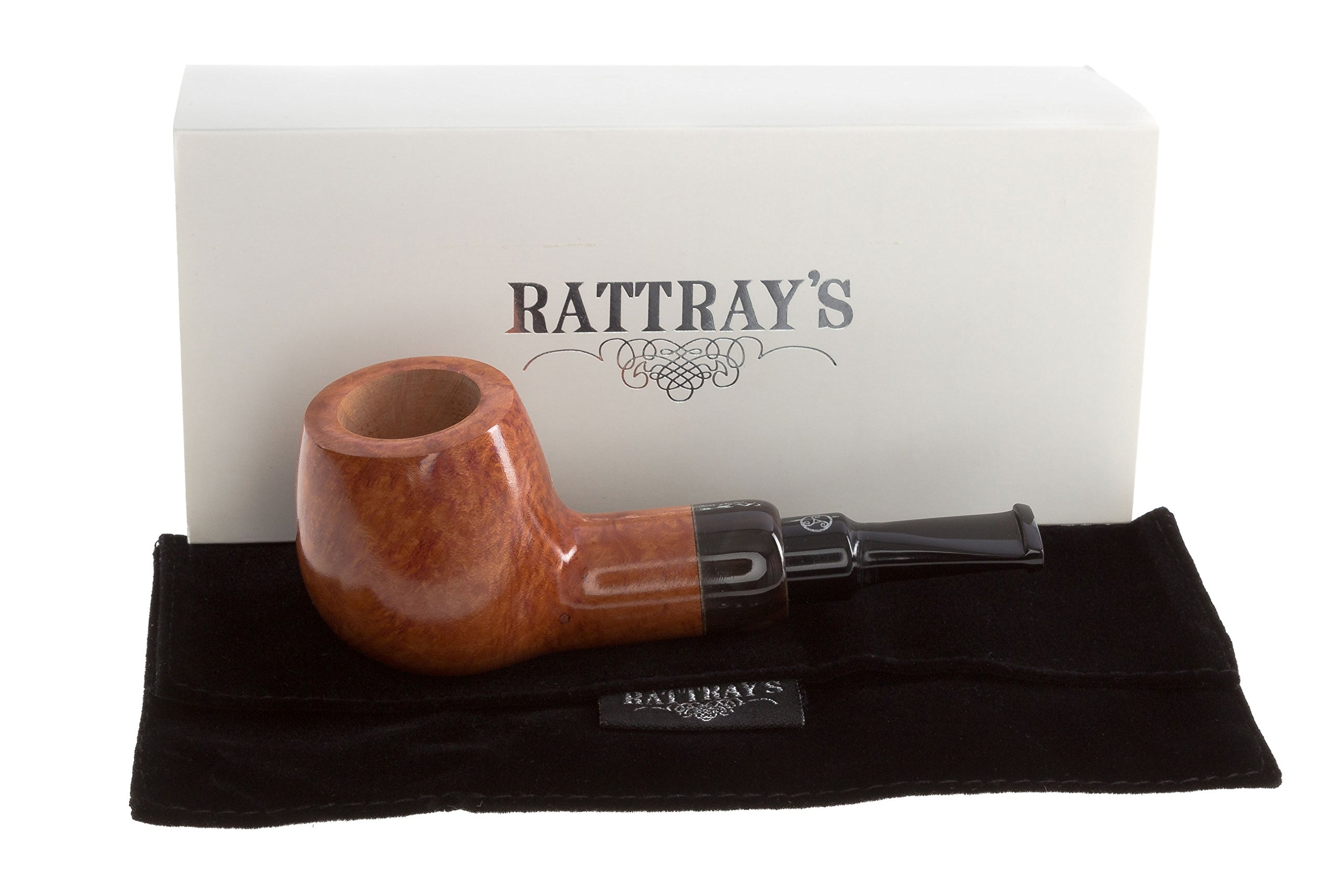 Rattray's Chubby Jackey Horn Tobacco Pipe - Natural by Rattray's (Image #1)