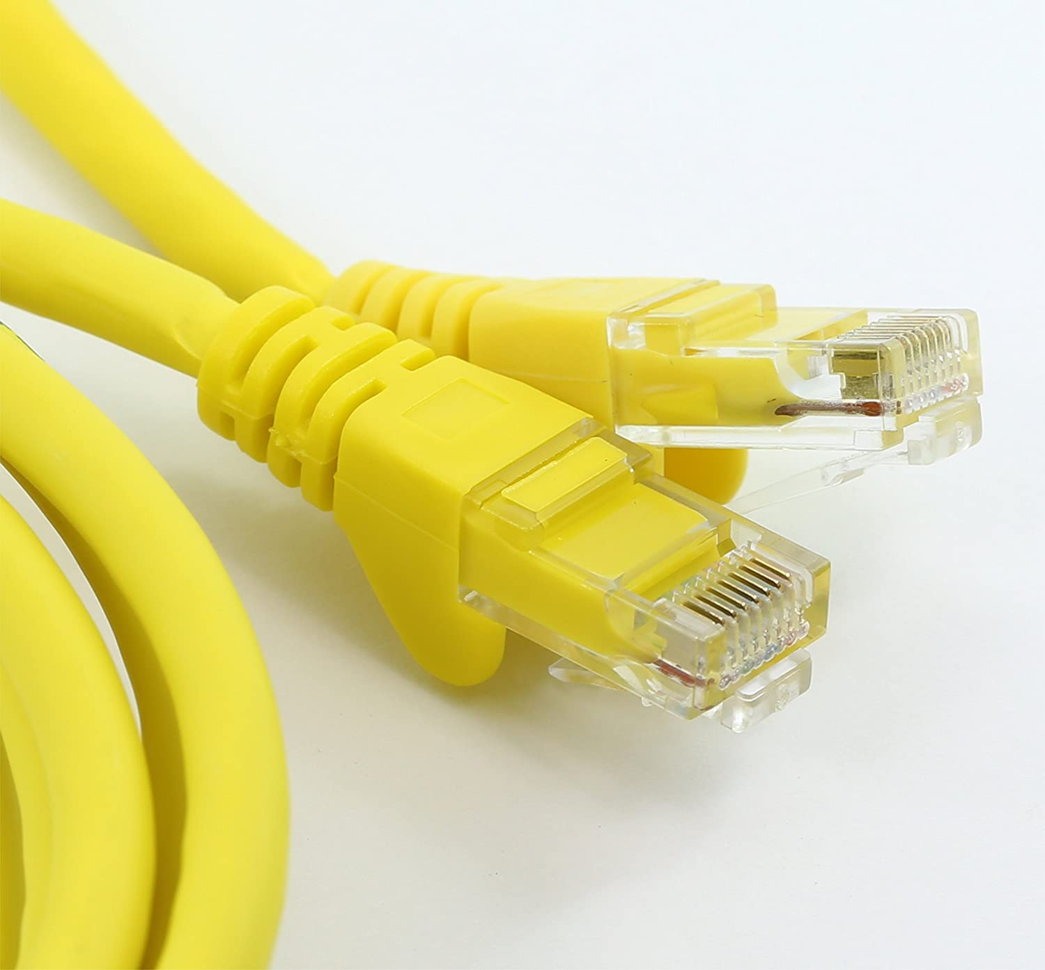 98ft, White rhinocables CAT6 Ethernet Cable Fast Speed RJ45 Patch Network Gigabit Internet LAN Ethernet Lead