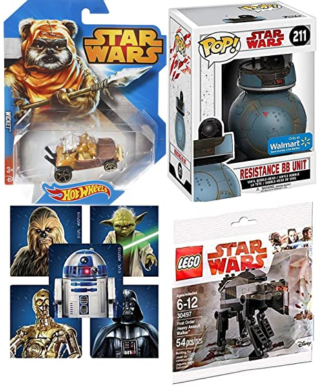 AYB Products SW Assault Walker First Order & Star Wars Resistance BB Droid Unit Pop!