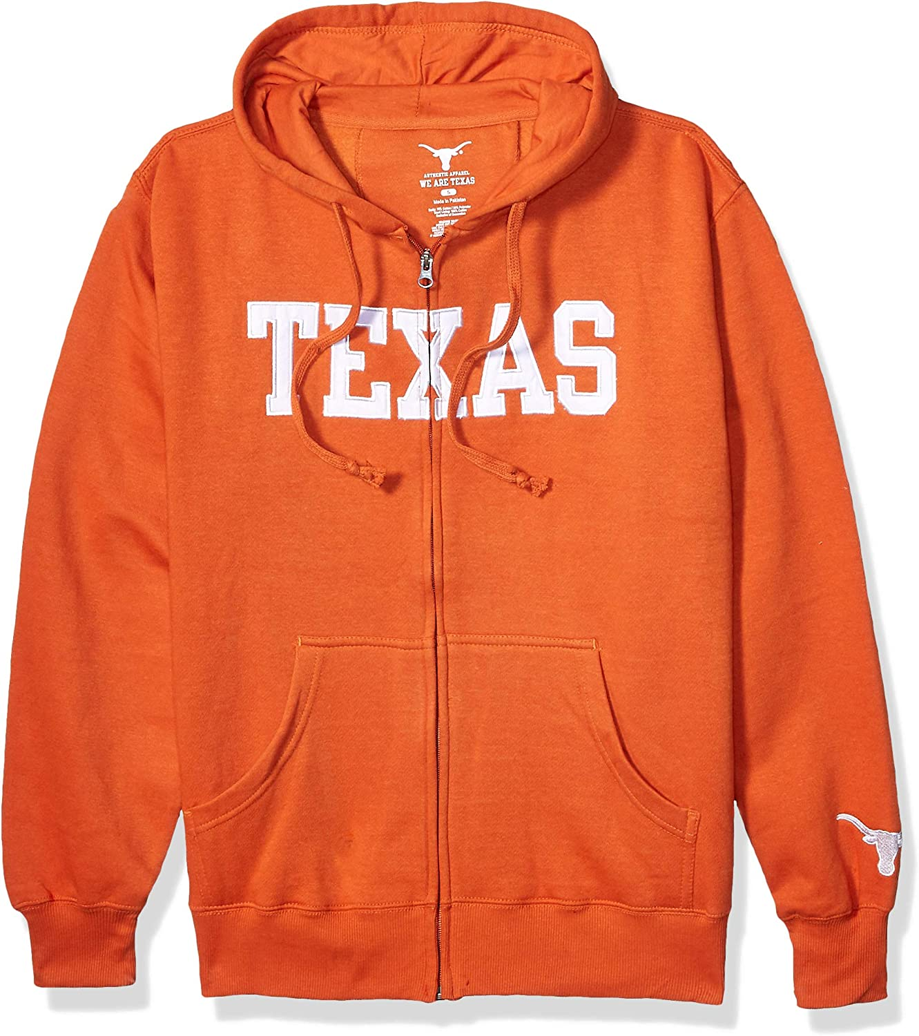 University of Texas Authentic Apparel NCAA mens Mens Fz Hoody