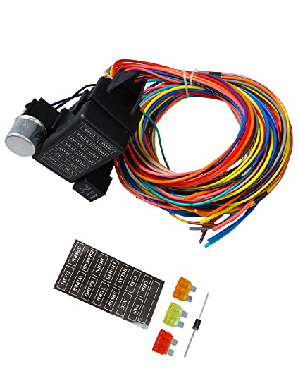 Tremendous Amazon Com Blackhorse Racing 12 14 Circuit Wire Harness Us Gxl Wiring Digital Resources Indicompassionincorg