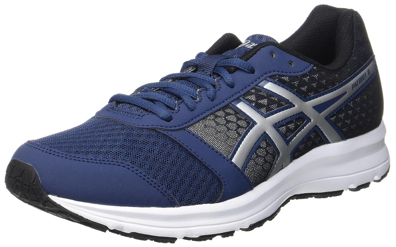 Asics t619n 9099 Men Black Patriot 8 Running Shoes Best