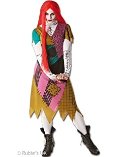 rubies official ladies sally costume nightmare before christmas adult costume small - Nightmare Before Christmas Halloween Costume