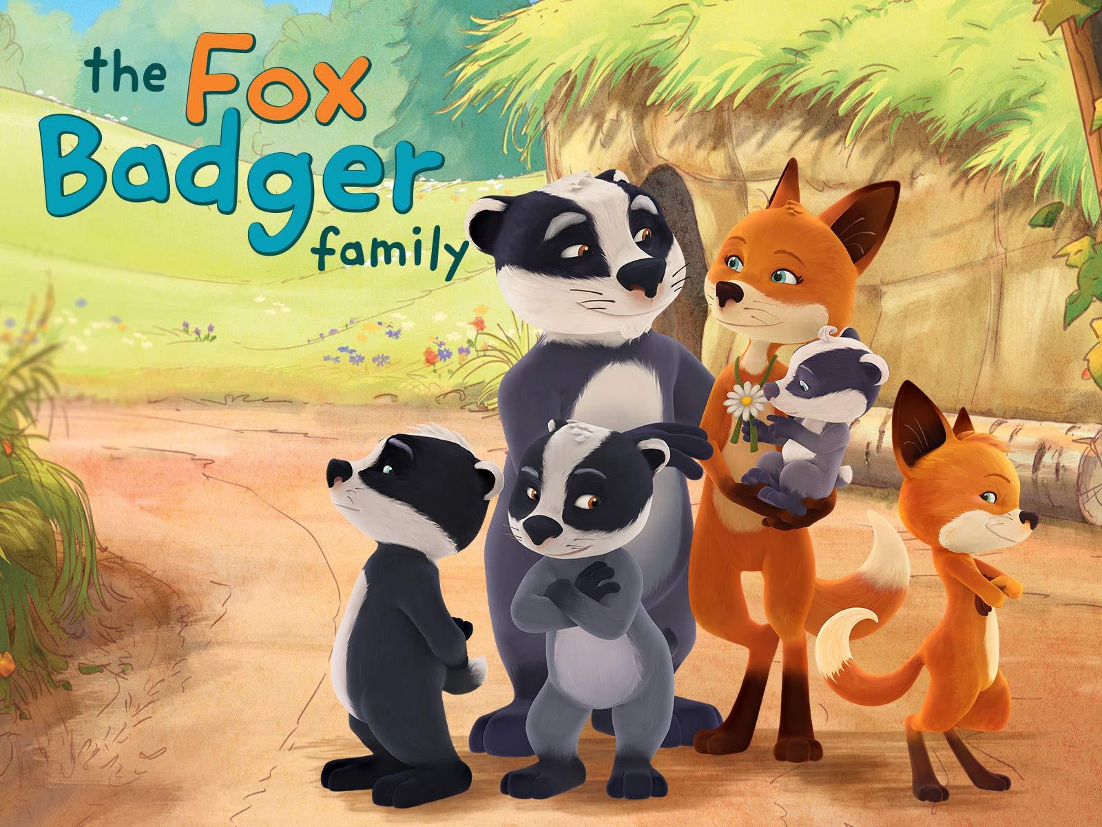 The Fox Badger Family