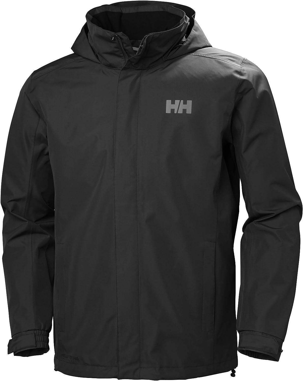 Helly Hansen Dubliner Jacket - Chaqueta chubasquero para hombre de uso diario y para actividades marítimas con la tecnología Helly Tech Hombre