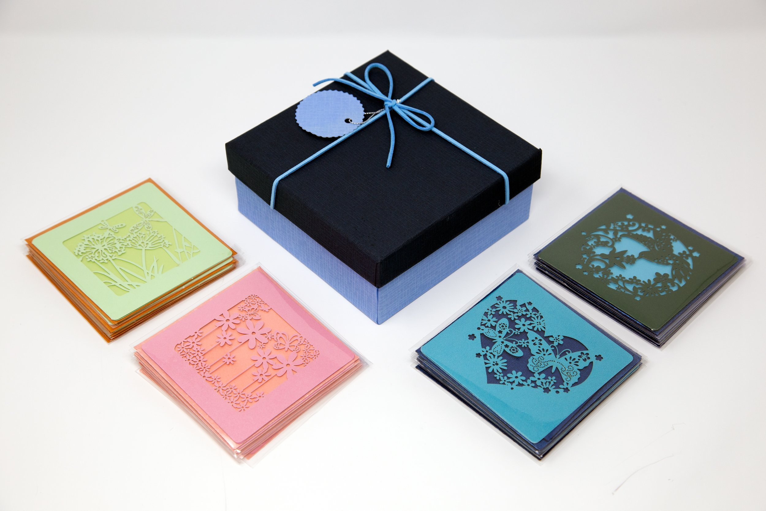 Greeting Cards Assortment - 24 Pack Blank Cards With Envelopes - Assorted Cards For All Occassions Box Set - Blank Note Cards With Envelopes In A Decorative Gift Box - Greeting Cards Blank