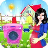 Kids Laundry : Washing clothes Games For Princess Girls : Hotel Room Laundry Cleaning Games