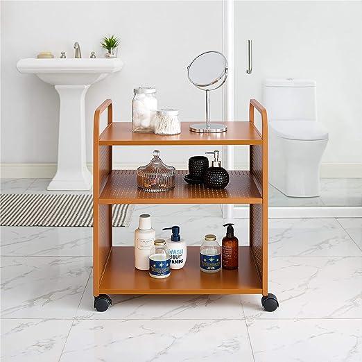 Orange Novogratz Aubrie Bar and Serving Cart Home & Kitchen Home ...