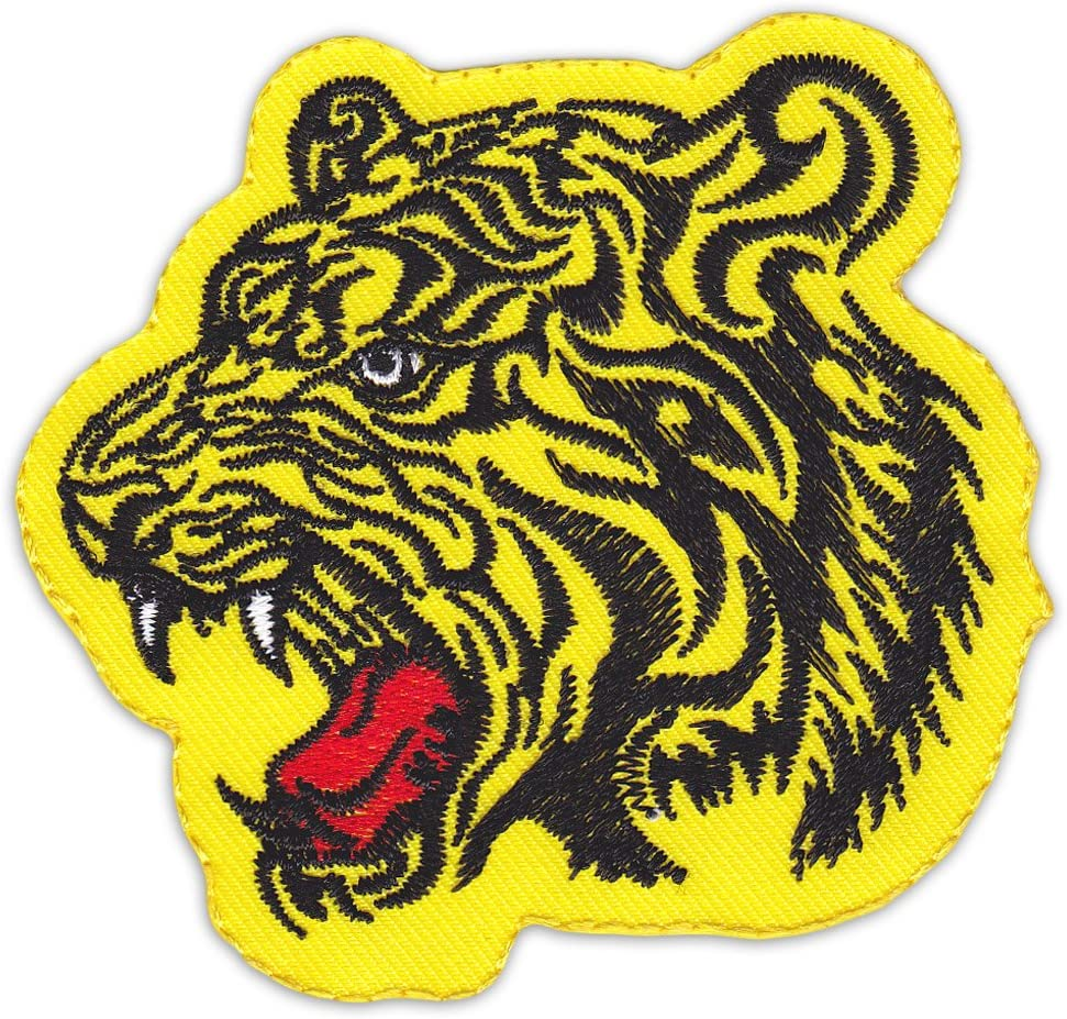 Tailandia Tiger parche para planchar Patch Siam de Muay Thai Kick ...