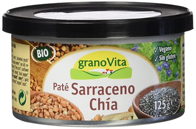 Granovita Pate Sarraceno Chia Bio - 125 gr - [Pack de 3]