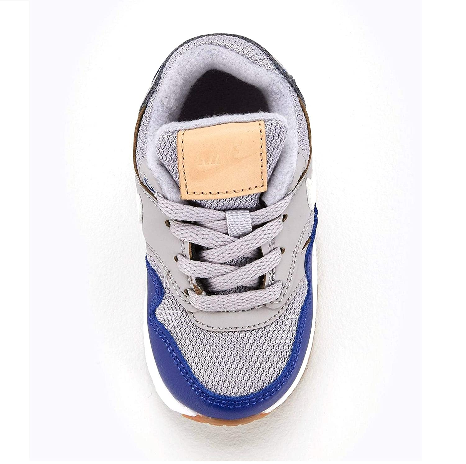 a7aab89b15 NIKE Unisex Kids' Air Max 1 (td) Fitness Shoes, Multicolour (Atmosphere Grey /Sail/Deep Royal Blue 010), 9.5 UK: Amazon.co.uk: Shoes & Bags