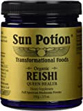 Sun Potion Organic Reishi Mushroom Powder - 100 Gram Jar