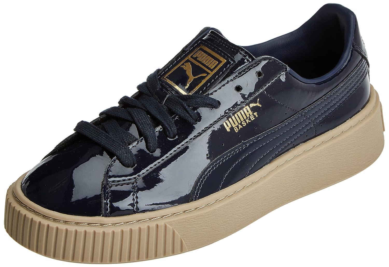 Puma Vikky Platform, Baskets Basses Femme, Noir (Black-Black), 38 EU