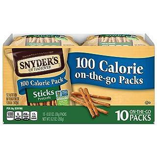Snyder's of Hanover Pretzel Sticks, 100 Calorie Individual Packs (10 Count Box)