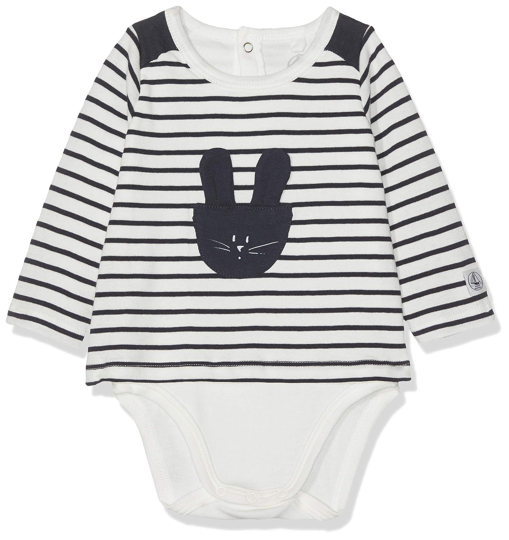 Petit Bateau Baby-M/ädchen Barino Formender Body