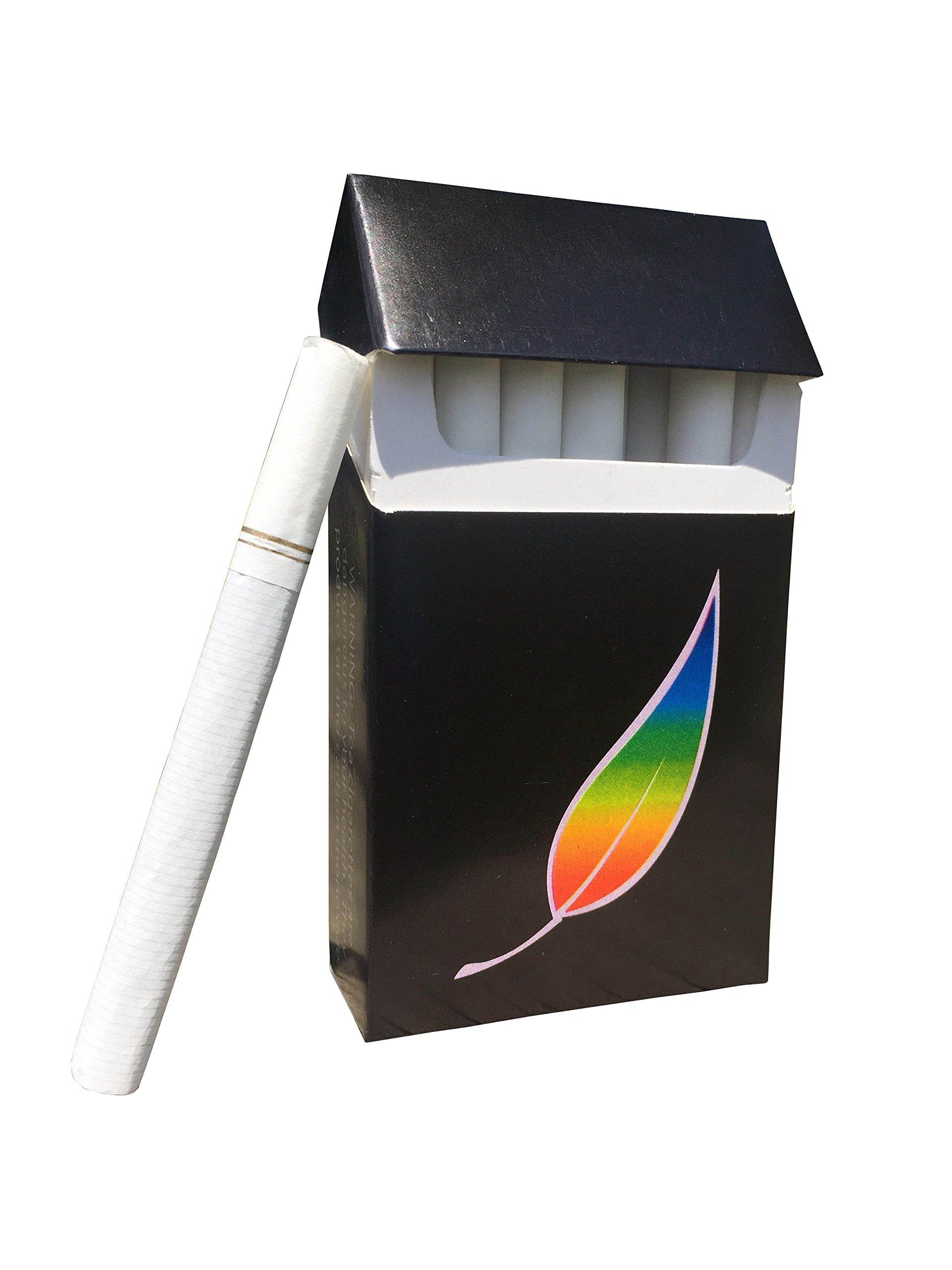 AMERICAN BILLY - Regular Black Tea Herbal Cigarettes (Sold by the Carton) -Non Tobacco - Non Nicotine Cigarette Alternatives