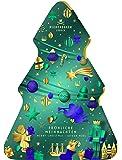Niederegger Adventskalender Tannenbaumform, 1er Pack (1 x 400 g)