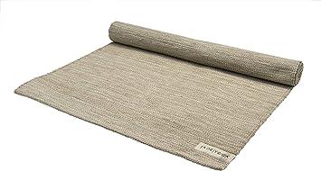 JadeYoga Organic Cotton Mysore Yoga Rug