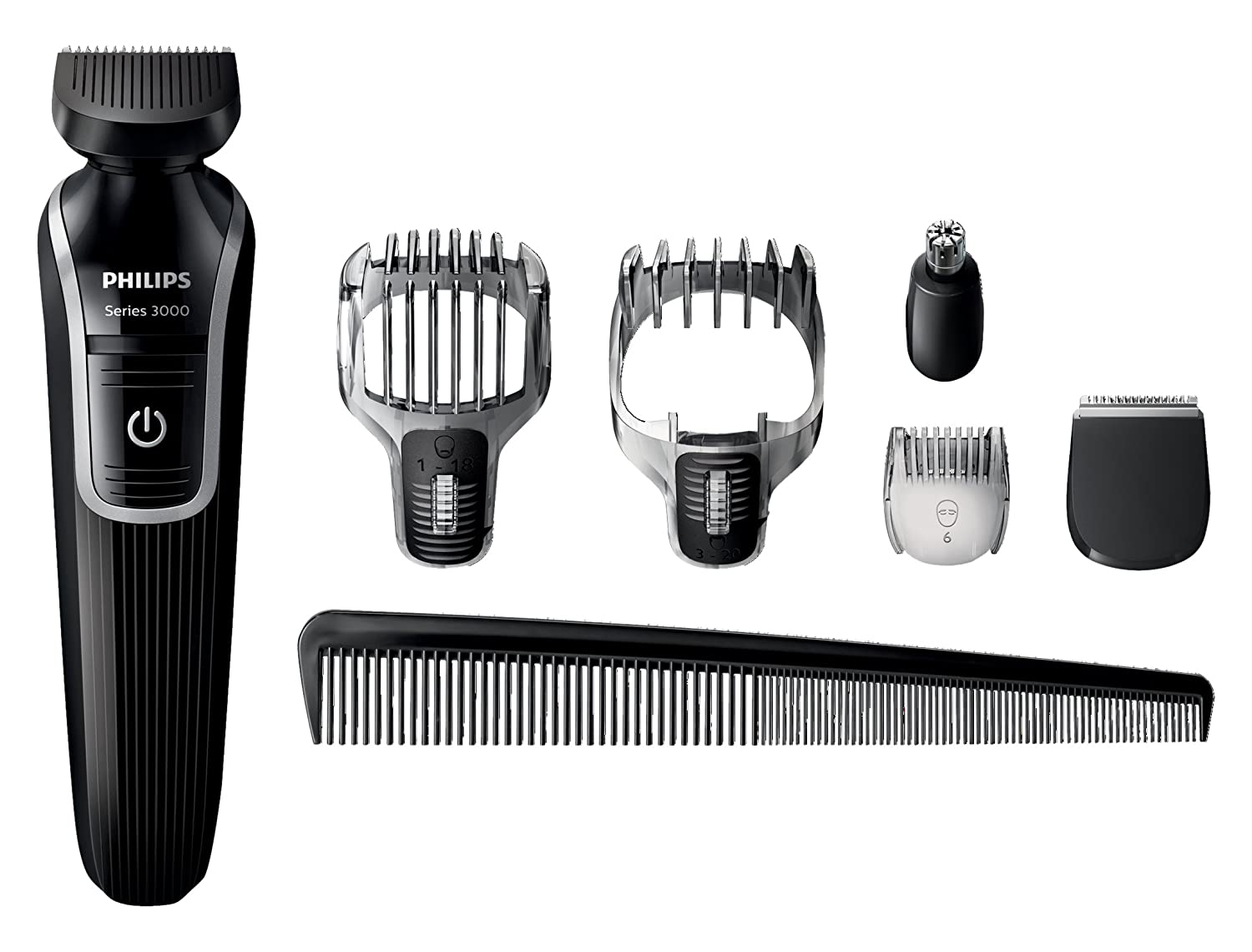philips qg3342 23 men grooming kit hair beard moustache. Black Bedroom Furniture Sets. Home Design Ideas