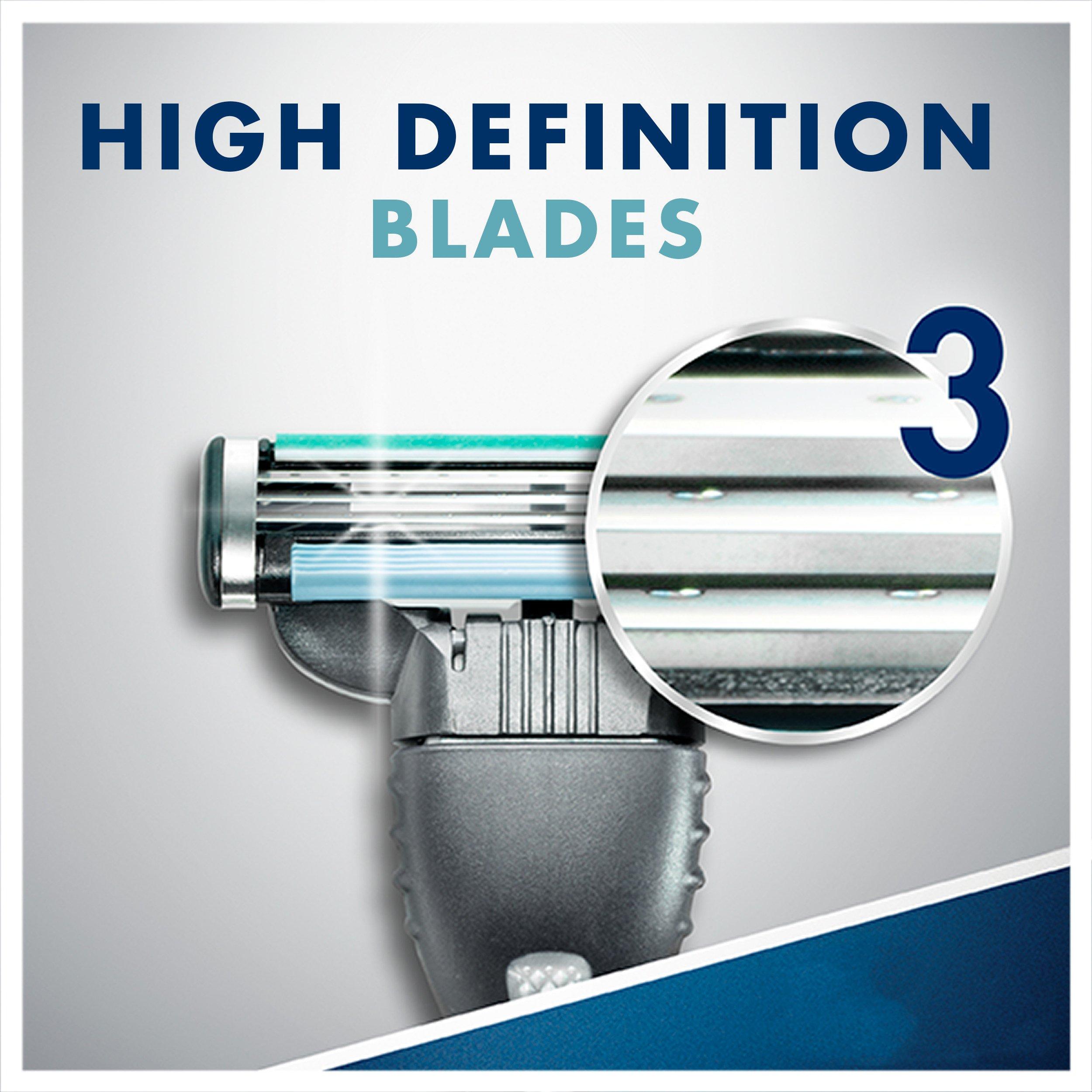 Gillette Mach3 Men's Disposable Razor, Sensitive, 6 Count, Mens Razors/Blades by Gillette (Image #5)